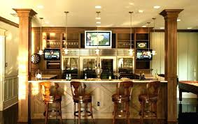 Basement Wet Bar Design Extraordinary Bar Tile Ideas Game Room Wet With Black Hex Contemporary Media Home