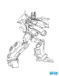 Small Picture Transformers Optimus Prime Coloring Pages olegandreevme
