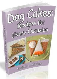 dog cake recipes ebook