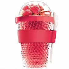 <b>Охлаждающий контейнер Chill Yo</b> 2 Go, красный купить: цена на ...