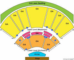 Warped Tour Seating Chart Seating Chart Hollywood Casino Amphitheatre St Louis Mo