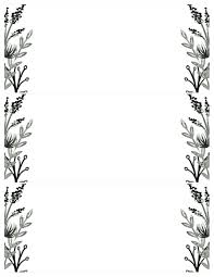 Invitation Templete Black White Flowers Invitations Templates Free Printable Paper 18