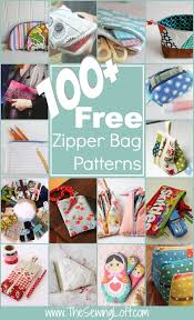 100 free zipper pouch patterns rounded up in one place the list is filled