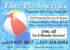 pool service ad. Elite Pool Service \u0026 Repair Pool Service Ad C