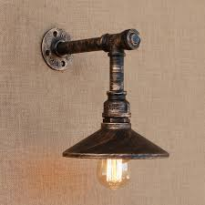 Interior wall lighting fixtures Decorative Loft Style Iron Water Pipe Lamp Edison Wall Sconce With Switch Retro Wall Light Fixtures Indoor Vintage Industrial Lighting Aliexpress Loft Style Iron Water Pipe Lamp Edison Wall Sconce With Switch Retro
