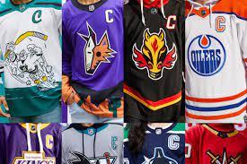 All jerseys are made from 100% polyester. Ranking All 31 Reverse Retro Nhl Jerseys Hockey Wilderness
