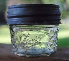 4 oz Jelly Jars | eBay & BALL MASON 4 Oz. QUILTED CRYSTAL CLEAR GLASS JELLY JAR w/ Vintage Ball Zinc Adamdwight.com