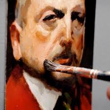 acrylic portrait course
