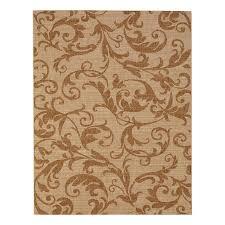 display reviews for alcaston grain chestnut rectangular machine made inspirational area rug