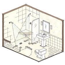 Small Bathroom Design Plans Impressive Decor Small Shower Lgsq