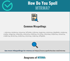 You write a word and you get a list of characters according to the nato phonetic alphabet. Correct Spelling For Mtrma Infographic Spellchecker Net