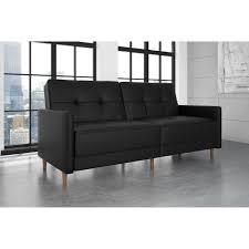 faux leather convertible sofa  centerfieldbarcom