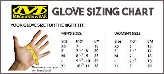 mechanix gloves size chart mechanix size chart dolap magnetband co