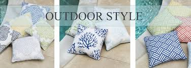 Outdoor Throw Pillows Find Designer Patio Accessories – Sky Iris