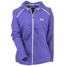 under armour zip up hoodie womens. under armour jackets: women\u0027s purple 1235352-528 ua poseidon storm hoody zip up hoodie womens n