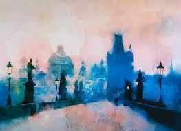 paintings of prague things to know about prague travel art rosalina atanasova paintings of prague