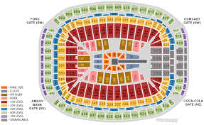 Houston Reliant Stadium Seating Chart Wwe Wrestlemania 25 Notes Seating Chart Ticket Prices And