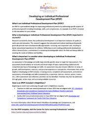 individual development plan examples printable individual development plan examples fill out download