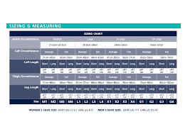 Sigvaris Measurement Chart Sigvaris Secure