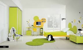 bedroom colors green. cool green and yellow color scheme for modern teenage bedroom colors