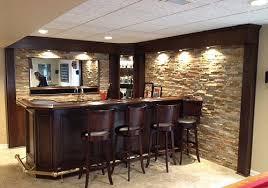 Other Basement Bar Stone Basement Bar Stone On Front Stonework By