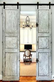 home office doors. Antique French Sliding Barn Doors Leading To Home Office Door Rails Shower Interior