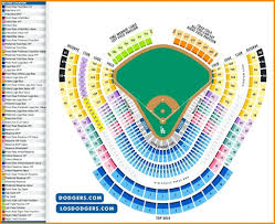 Fairplex Seating Chart Dodger Stadium Detailed Seating Chart Seating Chart