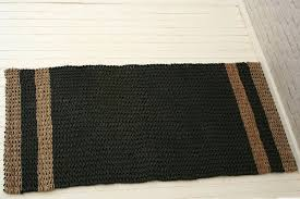recycled plastic rug handmade natural black white elephant trading company rugs nz outdoor 9 x 12