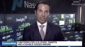 US steel tariffs a 'double edged sword' says steel company CEO   Videos    Express.co.uk