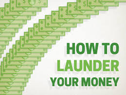 Image result for money the old-fashioned way—he launders it