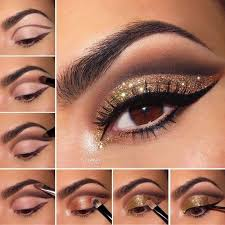 gold eyeshadow glam gold eyeshadow tutorial for beginners makeup tutoria diypick your daily source of diy ideas craft projects and life