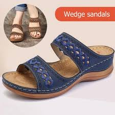New women shoes <b>Large Size Sandals Female</b> Hollow ...
