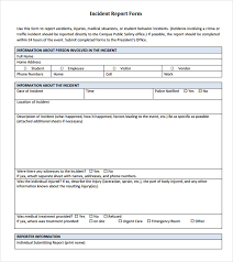 18 Sample Incident Reports Pdf Ms Word Pages