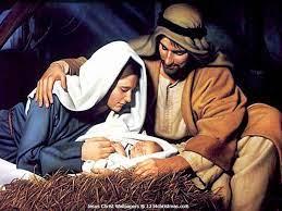 Christmas Jesus, Mary, Joseph ...