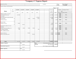 Sample Spreadsheet For Business Expenses With Unique Expense