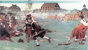 lexington concord and bunker hill the american revolution begins concord battle picture