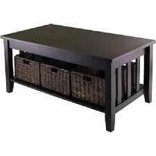 winsome wood morris coffee table with 3