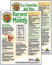 family newsletter harvest of the month family newsletter