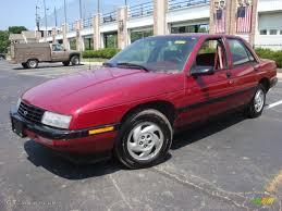 1994 Medium Garnet Red Metallic Chevrolet Corsica Sedan #32025522 ...