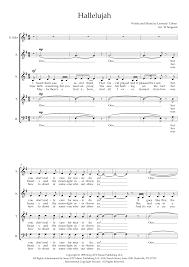 Hallelujah (arr. Wendy Sergeant) - Choral Music Download