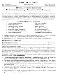 Manufacturing Resume Templates Inspiration Resume Templates Manufacturing Resume Templates Executive Of