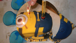 Minion Celebration Cake Tesco Store Price 14,68 Eur - YouTube
