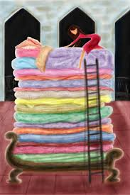 princess and the pea bed. Artwork By Monette Pangan Princess And The Pea Bed