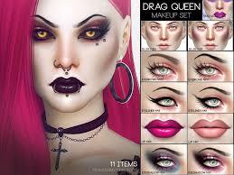drag queen makeup set