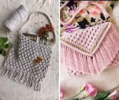 How To Macke How To Make Macrame Purses And Bags 8 Incredible Tutorials