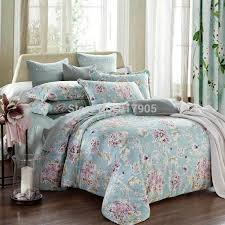 european country style duvet covers modern vintage fl printing comforters bedding sets shabby chic