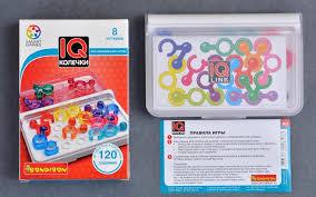 <b>Настольная игра</b> IQ-Колечки <b>Bondibon</b> купить можно тут ...