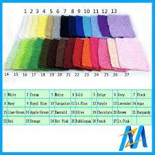 Retail Cheap Baby Hair Accessories Baby Crochet Tube Top