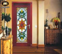 painted glass doors kitchen door glass painting