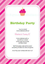 Birthday Invitation Template Printable Interesting Free Printable Birthday Party Invitation Templates